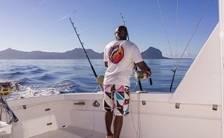 Magic Hooker, Hooker Deep Sea Fishing, Black River Mauritius, kalaan Mauritiukselle